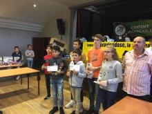 Podium du tournoi B